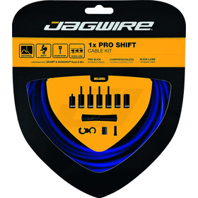 Jagwire 1X Pro Shift Vaihdekaapelisetti, blue